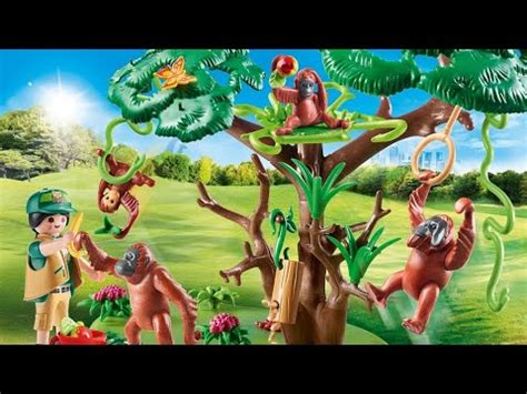 Nouveautés Playmobil zoo   parc animalier 2020/2021   YouTube