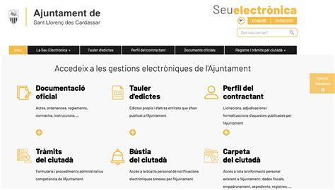Nova Seu Eletrònica de l Ajuntament | Seu Electrònica de ...