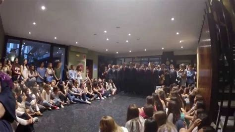 Novatos CMU San Pablo 2014 Cantando en el Pino, Madrid ...