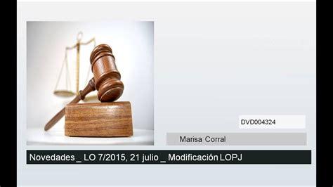 Novedades en Modificación de Ley Orgánica del Poder ...