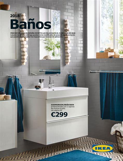 Novedades muebles baño catálogo Ikea 2018 | iMuebles