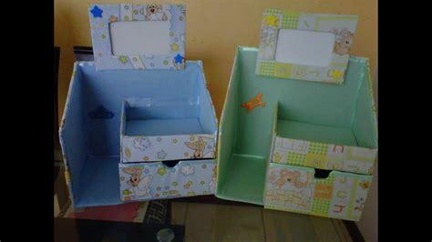 Novedades: Organizador hecho de cartón para bebés ...