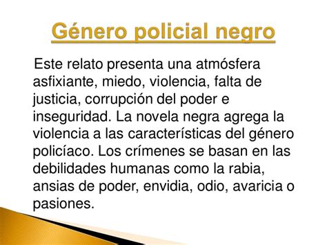 Novela policiaca