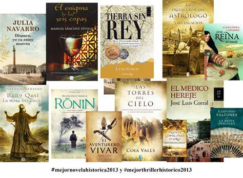Novelas Históricas: Elección de la Mejor Novela Histórica ...
