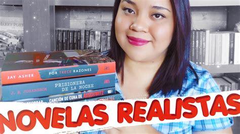 Novelas Realistas ll Recomendaciones De Libros   YouTube