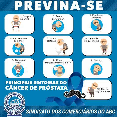 Novembro Azul: conheça os principais sintomas do câncer de ...