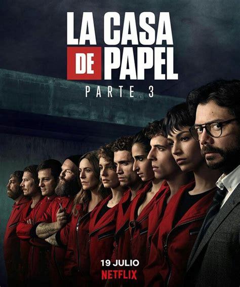 Novos episódios de  La Casa de Papel  ganha pôster