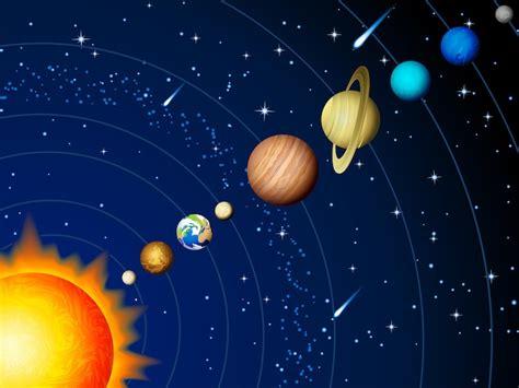 Nuestro Sistema Solar  Niños    Información y Características