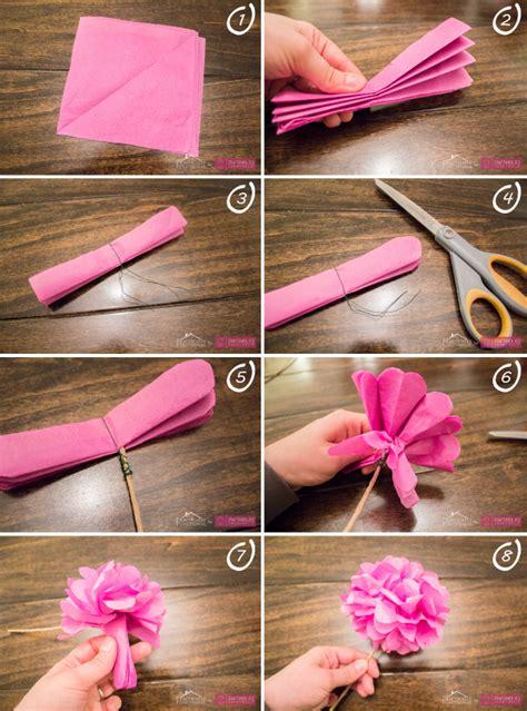 NUESTROS SECRETITOS: como hacer flores de papel, paso a paso