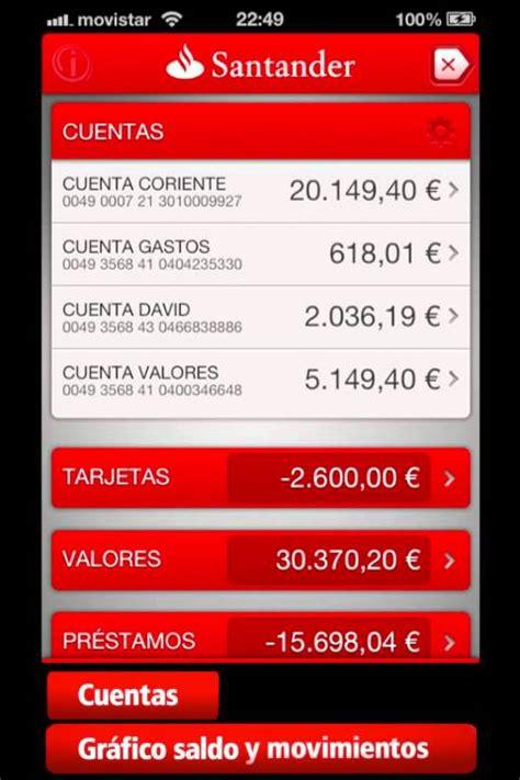 Nueva aplicación de Banco Santander para iPhone   Demo ...