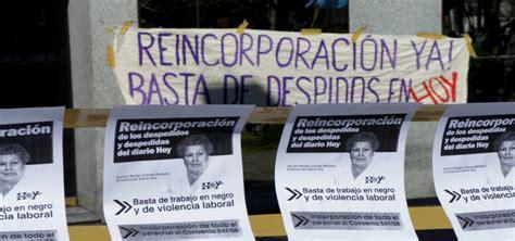 Nueva audiencia por reincorporaciones en el Diario HOY de ...