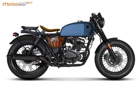 Nueva Brixton Rayburn 125   Motos Custom 125
