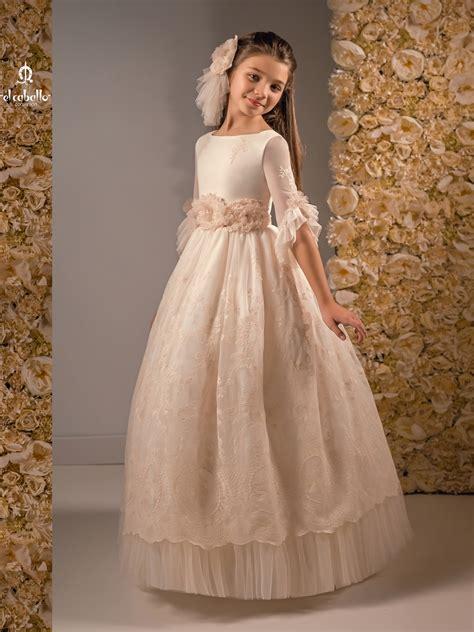 Nueva colección vestidos de comunión para niñas 2019 ...