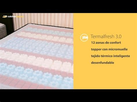 Nueva gama de colchones Ingravity Termalfresh   YouTube