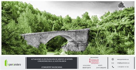 Nueva licitación de la CONSELLERIA DE AGRICULTURA – GVA ...