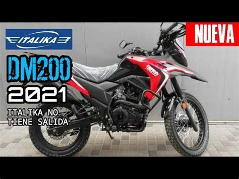 Nueva Moto Italika DM200 2021 Review, Sonido y ...