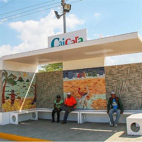 NUEVA PARADA! La @alcaldia_bna inauguró la parada de ...