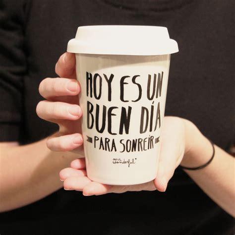 Nueva taza  Hoy es un buen día para sonreír  y descuento ...