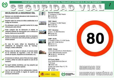 Nueva ventana:Seguridad vial  pdf, 155 Kbytes