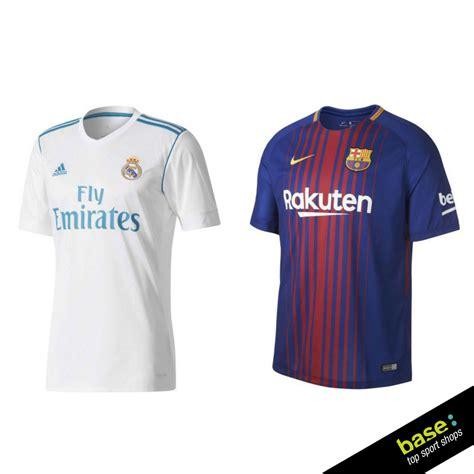 Nuevas camisetas del Real Madrid y FC Barcelona 2017/2018 ...