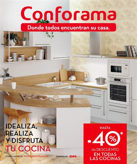 Nuevas cocinas en catálogo Conforama 2018 | iMuebles