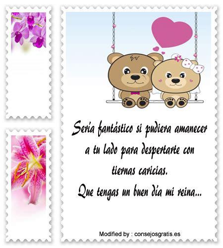 Nuevas Frases De Buenos Días Para Mi Enamorada | Mensajes ...