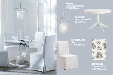 Nuevas sillas y mesas de Ikea para comedores   mueblesueco