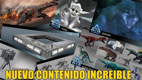 NUEVO CONTENIDO PARA EL FUTURO DE ARK GENESIS   YouTube