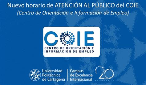 Nuevo horario de atención al público del COIE | Noticias ...