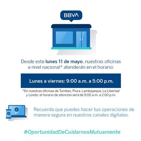 Nuevo HORARIO DE ATENCIÓN para BCP, Banco de la Nación ...