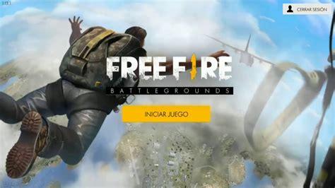 NUEVO JUEGO FREE FIRE   BATTLEGROUNDS !!   YouTube