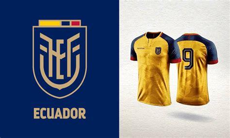Nuevo logo de la FEF y posibles camisetas de Ecuador para ...
