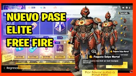 NUEVO pase elite free fire JUNIO 2019 temporada 13   YouTube