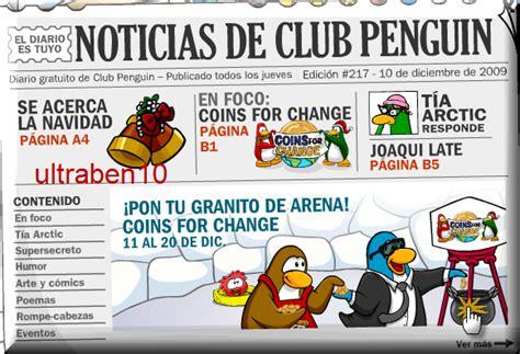 Nuevo periódico de club penguin | ultraben10 trucos de ...