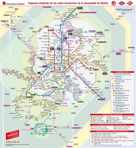 Nuevo plano  integrado  del Consorcio de Transportes ...