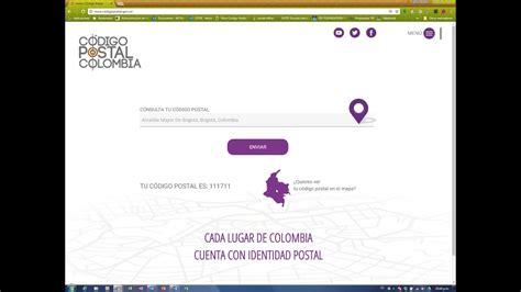 Nuevo Portal Web de Código Postal Colombia   YouTube