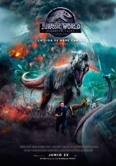 Nuevo Poster de Jurassic World 2 Fallen Kingdom  El reino ...