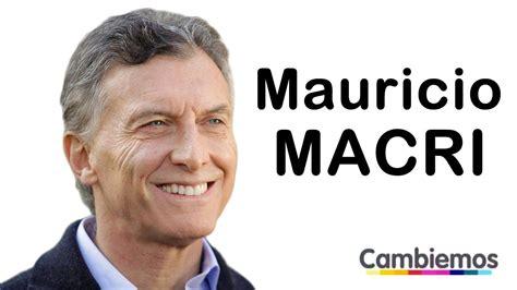 Nuevo presidente: los argentinos eligieron a Mauricio ...