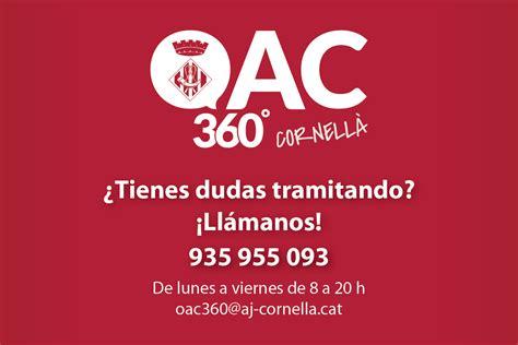 Nuevo teléfono de atención del servicio OAC 360º ...