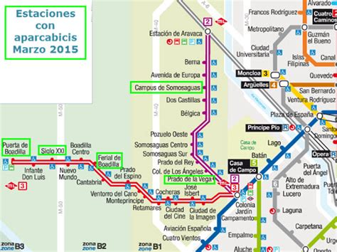 Nuevos aparcabicis en las estaciones de Metro Ligero Oeste ...