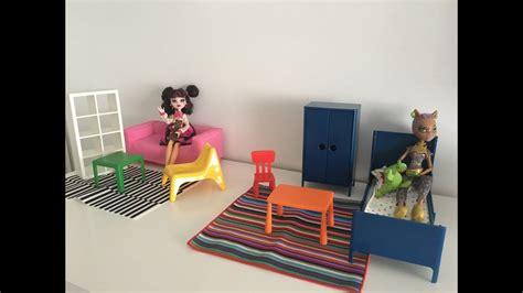Nuevos muebles de IKEA para muñecas Barbie, Monster High ...