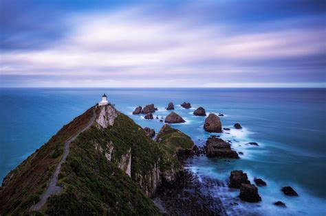 Nugget Point Lighthouse   Daniel Tran Photography