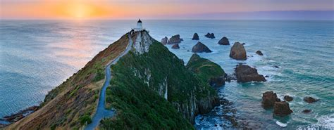 Nugget Point Lighthouse New Zealnd | Fine art photography ...