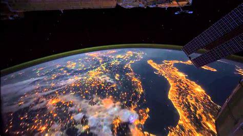 Nuit, La terre vue de l espace .   YouTube
