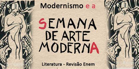 O Modernismo e a Semana de Arte Moderna de 1922 no Brasil