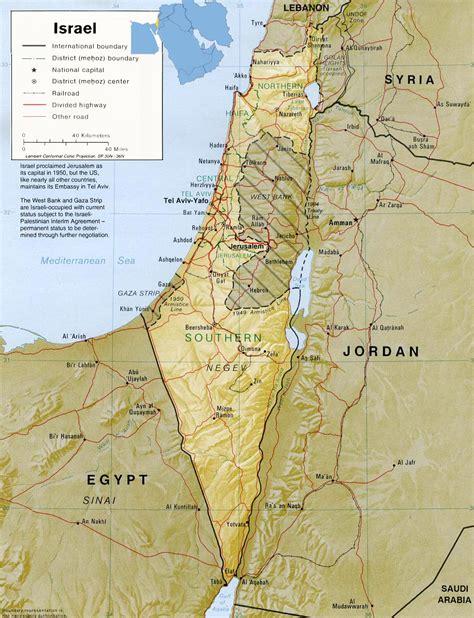 O porquê da confusão entre Palestina e Israel, Mapa da ...
