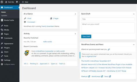 O Que é Painel Administrativo WordPress?