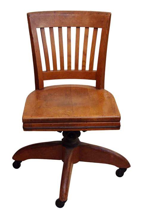 Oak Vintage Office Rolling Chair | Olde Good Things