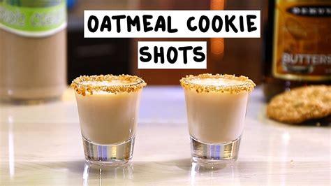 Oatmeal Cookie Shots   Tipsy Bartender