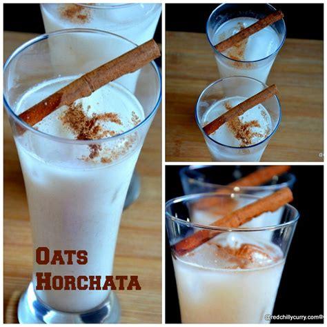 oatmeal horchata